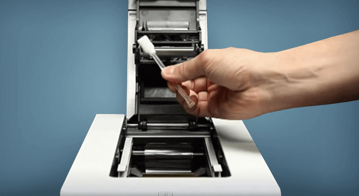 cleaning printer to improve print quality
