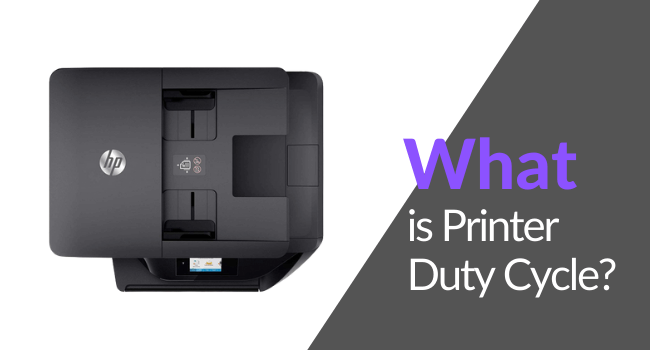 what is printer duty cycle